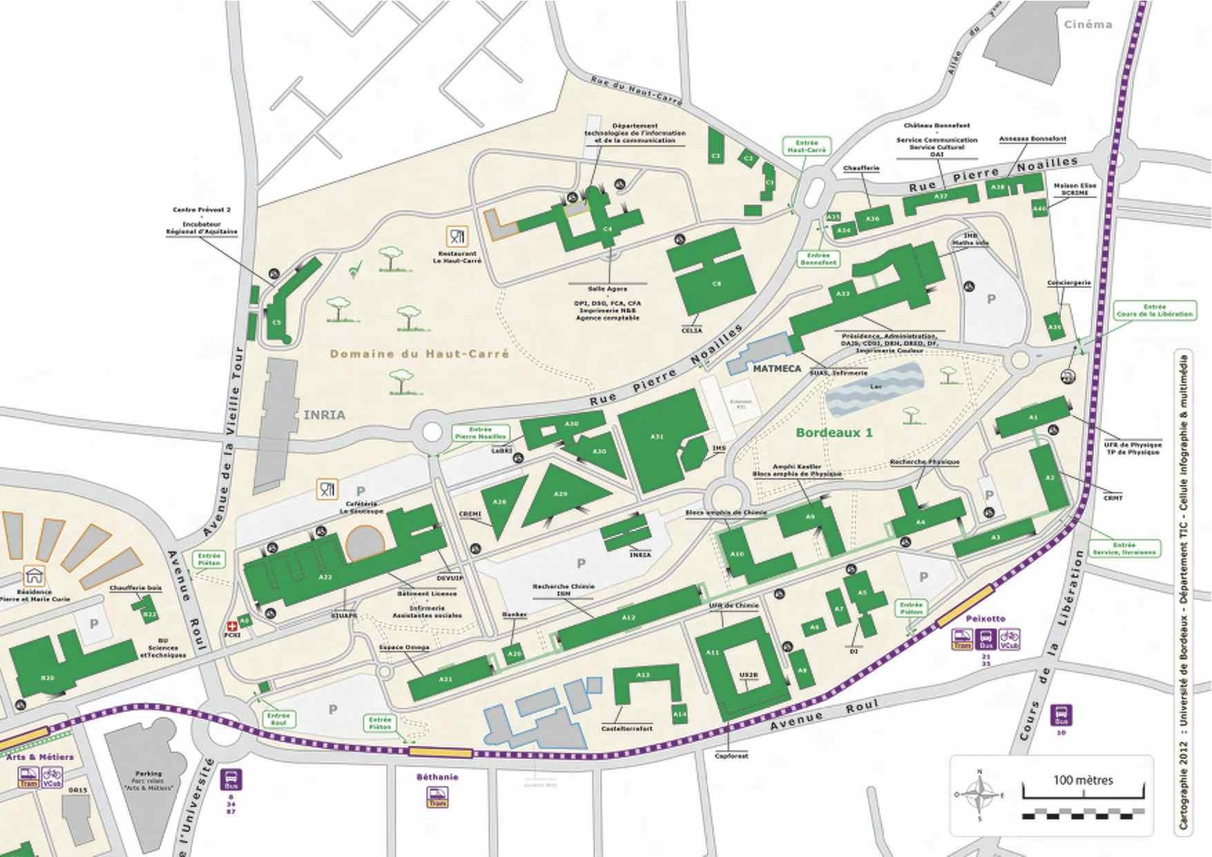 Carte Universite Bordeaux.Rencontre Smai Math Industrie 2013 Fiabilite Et Surete De
